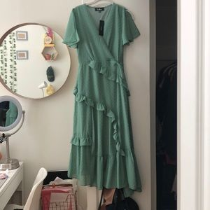 Green LuLus Midi Dress